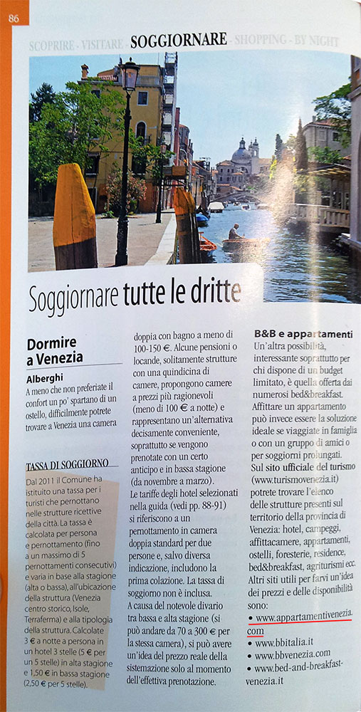Über uns | Appartamenti Venezia